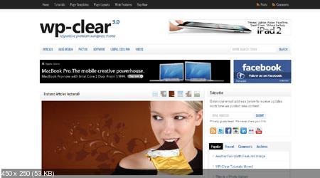 SoloStream - WP- Clear 3.0 Wordpress Theme