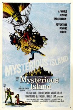 Таинственный остров / Остров приключений / Mysterious Island (1961) BDRip 720p