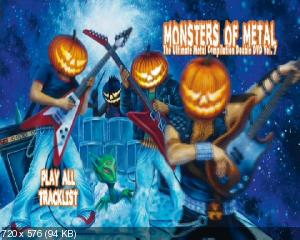 Monsters Of Metal - The Ultimate Metal Compilation Double DVD Vol.7 (2009) 2xDVD9